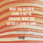Axis Space Office Quotes Seth Godin