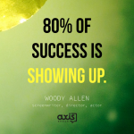Axis Space Office Quotes Woody Allen