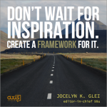 Quote of the Week: Motivational Monday with Jocelyn K. Glei, from 99U