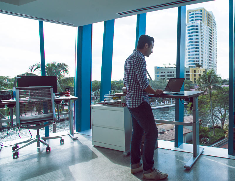 Standing desks in Fort Lauderdale