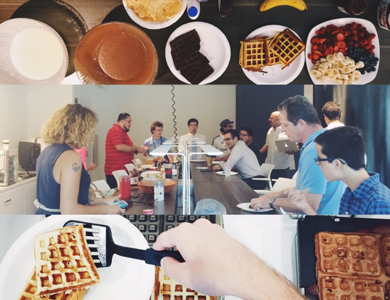Waffles vs. Pancakes Battle